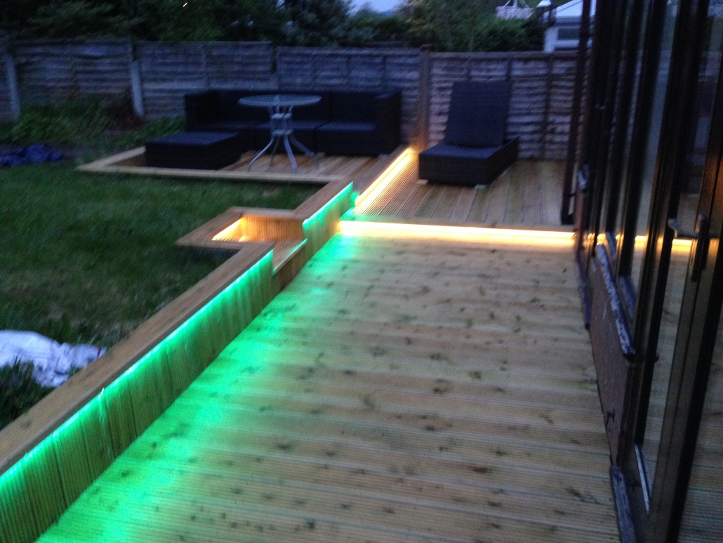 Outside lighting for the home