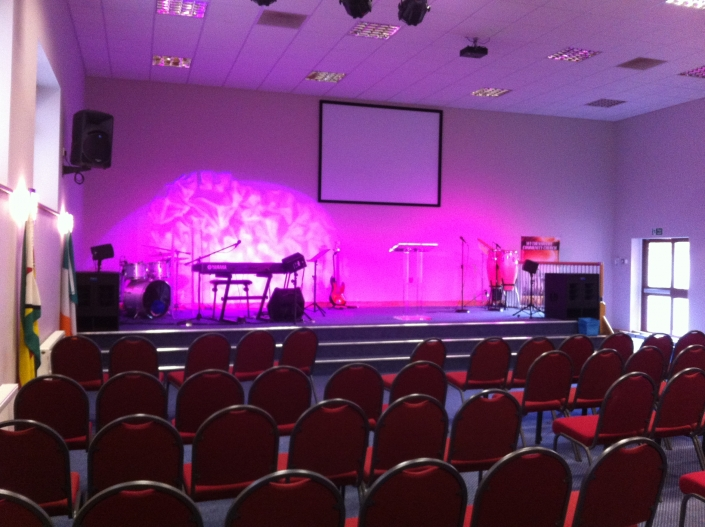 AV and lighting solutions for events and conferences