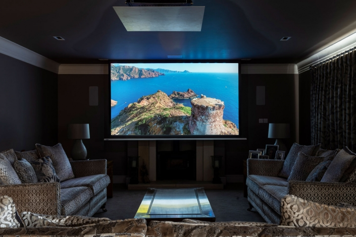 smart home design for home theatres and cinema rooms