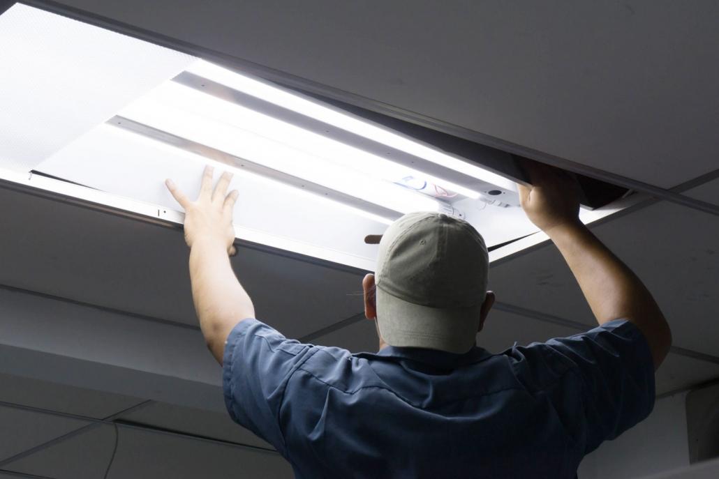 Smart lighting installation for smart homes