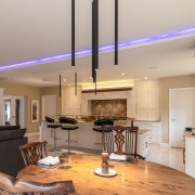 Picture of kitchen lighting and smart home technology automation solutions