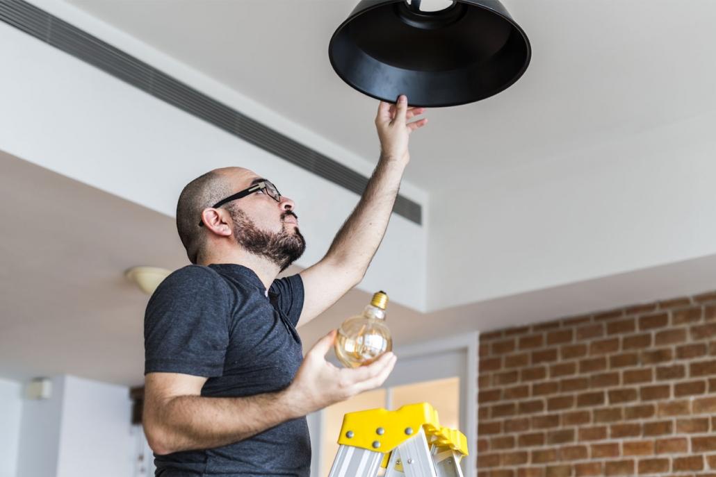 Smart lighting installation