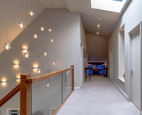 Hall way lighting design experts