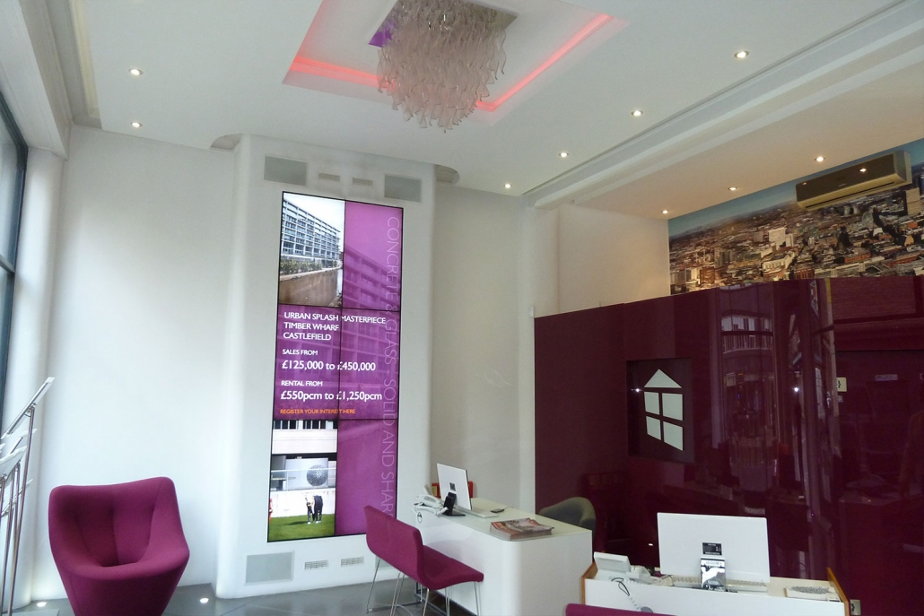 Business lighting and AV solutions image