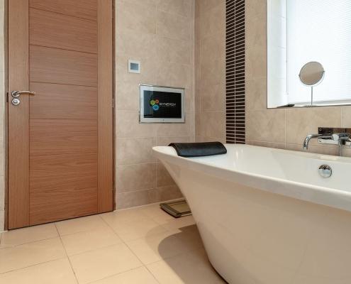 Smart bathroom solutions and multi room audio / video image