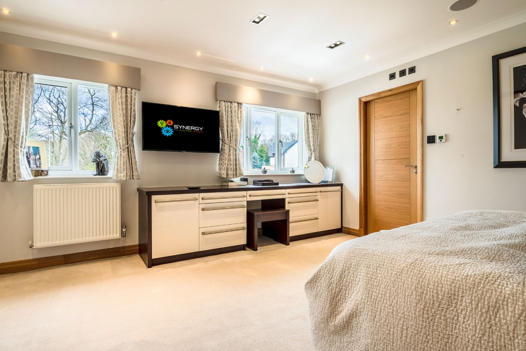 Smart Bedroom technology Cheshire