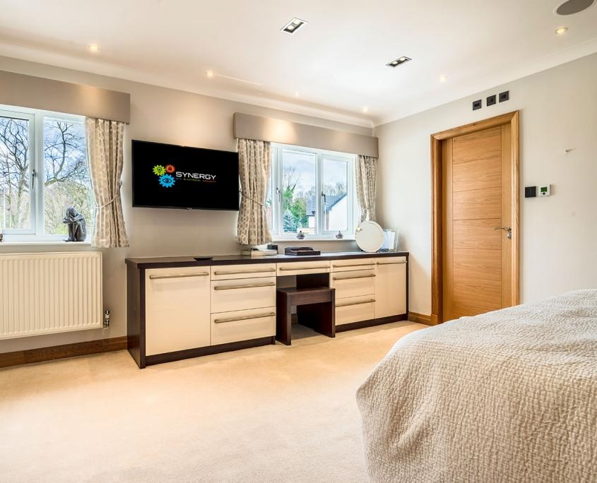 Smart Bedroom technology Cheshire