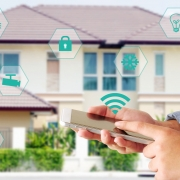 Smart Home Technology Solutions house image - home security installation representation